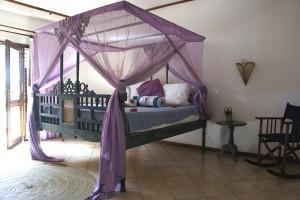 A double room in Mtoni Marini hotel in Zanzibar