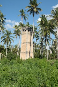 Zanzibar Second World War bunkers