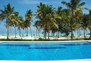 Beautiful beach hotel Cristal Resort in Paje, Zanzibar