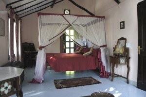A double room in Mbweni Ruins, Zanzibar City